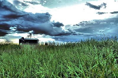 Alberta Photograph - Storm Clouds by Laura Strain