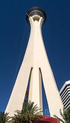 Palm Desert Photograph - Stratosphere Las Vegas by Edward Fielding