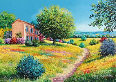Summer House Print by Jean-Marc Janiaczyk