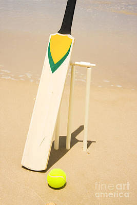 Cricket Photograph - Summer Sport by Jorgo Photography - Wall Art Gallery