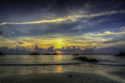 Sunrise Print by Mario Legaspi