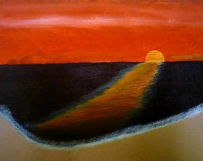 Andrew Jackson Painting - Sunset by Andrew Jackson