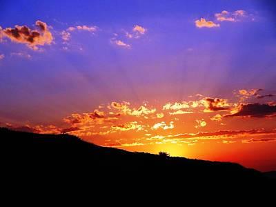Photograph - Sunset by Faouzi Taleb