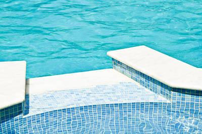 Swimming Pool Print by Tom Gowanlock