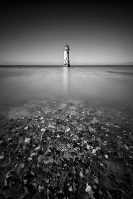 Bowmans Beach Photograph - Talacre Lighthouse by Dave Bowman