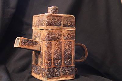 Teapot Print by Ghazel Rashid