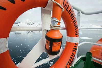 The Antarctic Peninsular Print by Ashley Cooper