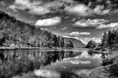 The Beautiful Bald Mountain Pond Print by David Patterson