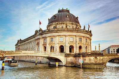 History Photograph - The Bode Museum Berlin Germany by Michal Bednarek