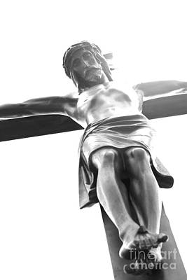 Manipulation Photograph - The Crucifixion by Sophie Vigneault