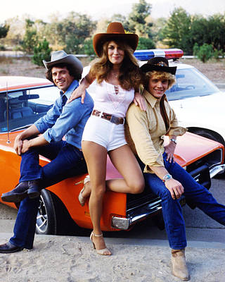 The Dukes Of Hazzard  Print by Silver Screen