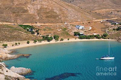 Sailing Photograph - The Famous Psili Ammos Beach by George Atsametakis