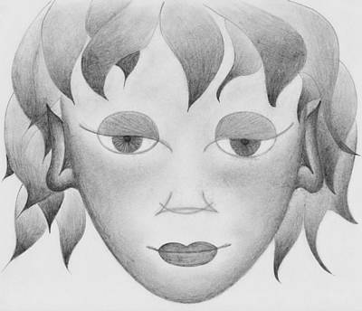Visionary Art Drawing - The Little Prince by Marianna Mills