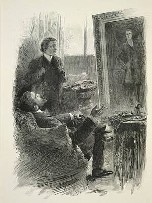 The Of Dorian Gray Photograph - The Picture Of Dorian Gray by British Library