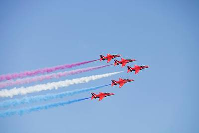The Red Arrows Print by Ashley Cooper