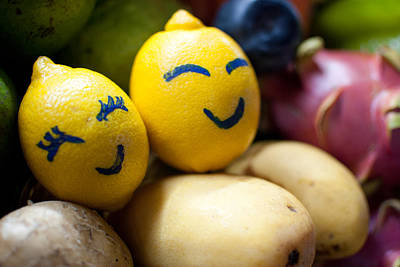 The Smiling Lemons Original by Mohd Shukur Jahar