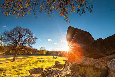 Megalith Photograph - Thracian Sanctuary by Evgeni Dinev
