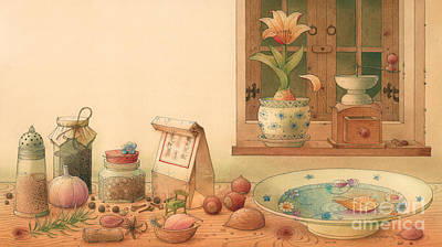 Thumbelina01 Print by Kestutis Kasparavicius