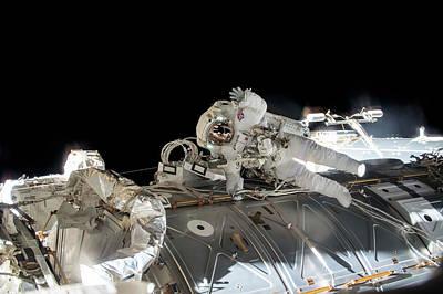 Emu Photograph - Tim Peake's Spacewalk by Nasa