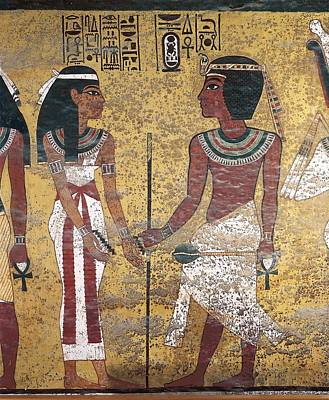 Tomb Of Tutankhamun. S.xiv Bc. Egypt Print by Everett