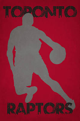 Toronto Raptors Print by Joe Hamilton