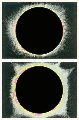 Solar Eclipse Photograph - Total Solar Eclipse by Detlev Van Ravenswaay