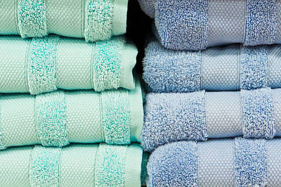 Towels Print by Tom Gowanlock