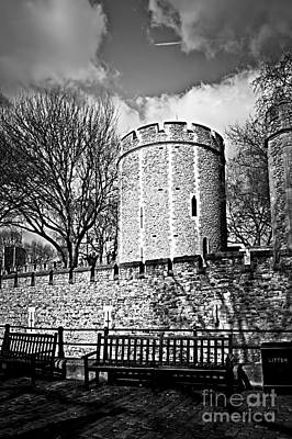 Historic Buildings Photograph - Tower Of London by Elena Elisseeva