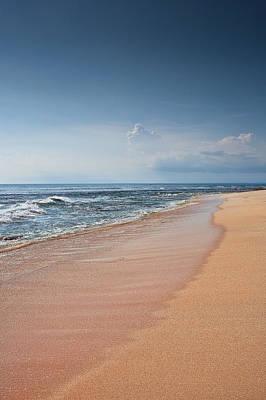 Beach Photograph - Tropical Sand Beach  by Modern Art Prints