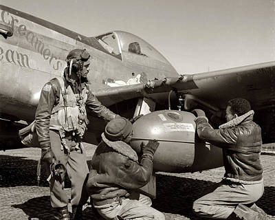 Tuskegee Airmen Print by Retro Images Archive