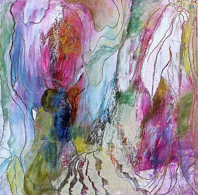 Under The Ice Of Venus Print by Bellesouth Studio