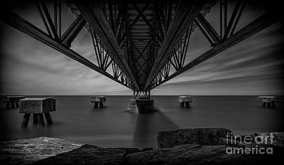 Under The Pier Print by James Dean