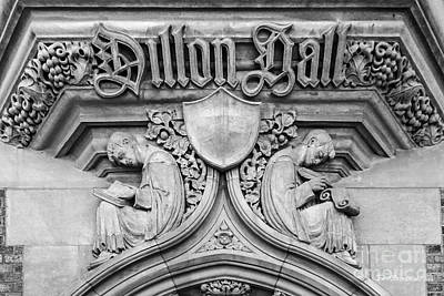Indiana Images Photograph - University Of Notre Dame Dillon Hall by University Icons