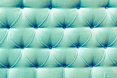 Upholstery Background Print by Tom Gowanlock