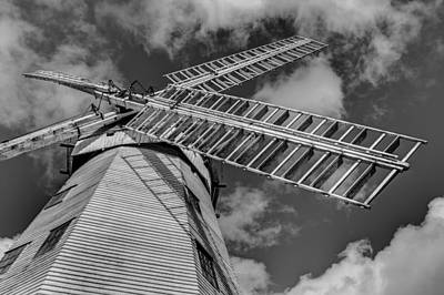 Upminster Windmill Essex England Print by David Pyatt