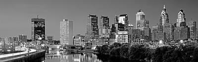 Us, Pennsylvania, Philadelphia Skyline Print by Panoramic Images