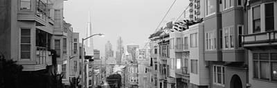 San Francisco Street Photograph - Usa, California, San Francisco by Panoramic Images
