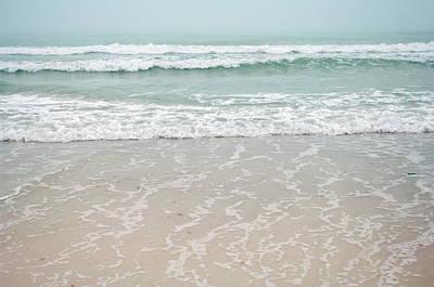 Usa, Florida, Sarasota, Crescent Beach Print by Bernard Friel