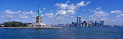 Liberation Photograph - Usa, New York, Statue Of Liberty by Panoramic Images