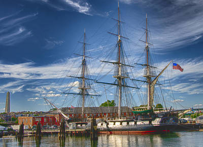 Boston Photograph - Uss Constitution by Joann Vitali
