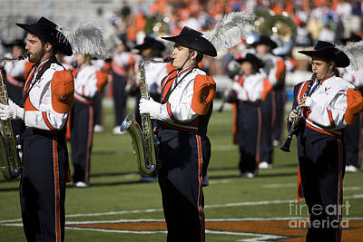 Marching Band Photograph - Uva Virginia Cavaliers Marching Band by Jason O Watson