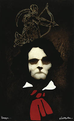 Vampyre... Print by Will Bullas