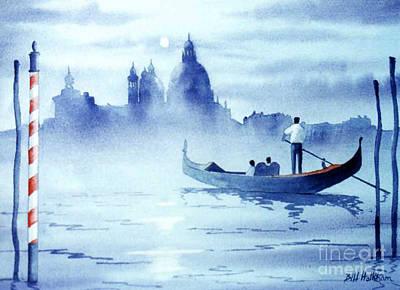 Venice By Moonlight Original by Bill Holkham
