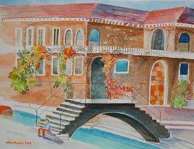 Venetian Doors Painting - Venice by Geeta Biswas