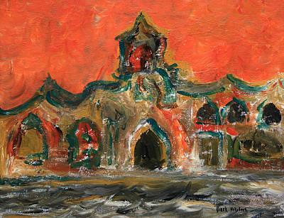 Painting - Venice V by Oscar Penalber