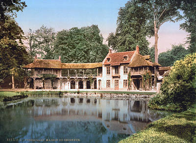 1890 Houses Painting - Versailles Petit Trianon by Granger