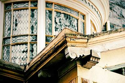 Window Photograph - Vintage Architecture by JAMART Photography
