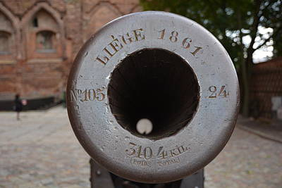 Cannon Photograph - Vintage Cannon by Mirek Bialy