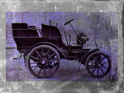 Vintage Car Print by David Ridley