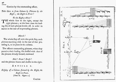 Von Steuben Drill Manual Print by Granger